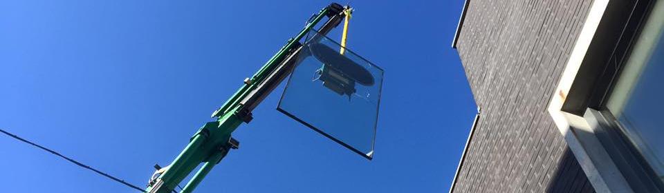 Plaatsen van nieuw glas